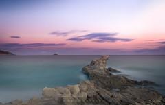 sunset colors (sampler1977) Tags: villajoyosa marinabaixa landscape marina mar oceano ocean sunset ocaso rocas largaexposicion watterscape sky cielo