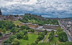 (Stratos28) Tags: panoramicview scottmonument princesstreet theroyalscottishacademy scottishnationalgallery edinburghcastle princes street gardens princesstreetgardens nikon d750 24120f4 scotland edinburgh uk