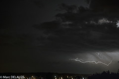 (marcdelfr) Tags: thunderstrom lightning orage chasseurorage foudre éclair hauteloire auvergne night clouds mood france sky