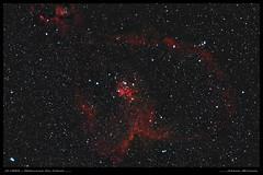 IC1805 - Nébuleuse du Coeur (Adrien Witczak) Tags: ic1805 coeur nébuleuse nébuleuseducoeur melote15 ciel cielprofond deepspace adrienwitczak astrophotographie astronomie astronomy astrophotography astrophoto espace