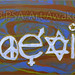 """""""Coexist Together"""" by Steven N, acrylic, $30.00"""