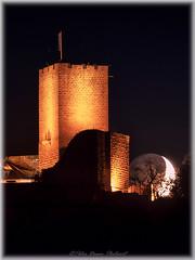 """Moonlight sonata"" (Peter Daum 69) Tags: nacht night turm tower burg castle licht light farbe color landscape landschaft nature natur canon fotografie fotograf photoart avalon dream"