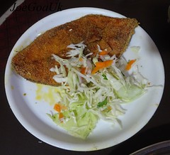 Fish curry rice thali (Joegoaukfishcurry2) Tags: joegoauk goa fish kingfish visonn