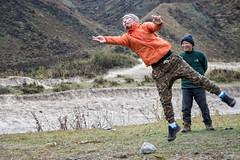 Jigme in action - Dego (Traditional Bhutanese game) - Chozo - Lunana Gewog - Gasa District - Snowman Trek - Bhutan (PascalBo) Tags: nikon d500 asie asia southasia asiedusud drukyul drukgyalkhap bhutan bhoutan འབྲུག་ཡུལ། འབྲུག་རྒྱལ་ཁབ་ snowman trek trekking hike hiking lunana gasa himalaya himalayas jigmedorjinationalpark dego game jeu man homme outdoor outdoors pascalboegli