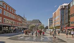 square in Kristiansand (gormjarl) Tags: kristiansand agder norway hometown