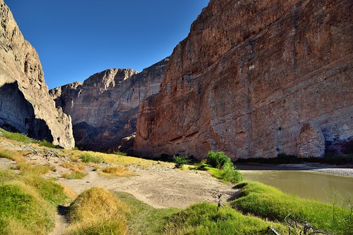 Walking Along the Shores of the Rio Grande (Big Bend National Park)