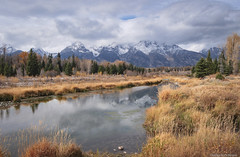 Schwabacher's Landing - Wyoming (petechar) Tags: charlesrpeterson petechar schwabacherslanding grandtetonnationalpark wyoming jacksonhole panasonicgh9 panasonic14140 water