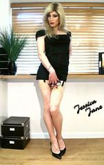 Office Affair (jessicajane9) Tags: tg crossdresser tgurl crossdressing tv m2f trans crossdress transvestite feminization tranny xdress tgirl feminised stockings travesti secretary