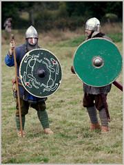 Battle of Hastings Re-enactment (pg tips2) Tags: thebattleofhastings1066 battleofhastings 1066 1066country reenactors medieval saxons