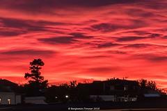 Sunset Skyline Silhouette (frattonparker) Tags: afsnikkor28300mmf3556gedvr btonner isleofwight lightroom6 nikond810 raw frattonparker silhouette clouds sunset ryde