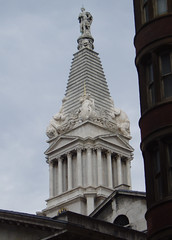 St George's, Bloomsbury (Aidan McRae Thomson) Tags: london church bloomsbury hawksmoor spire steeple tower baroque architecture nicholashawksmoor