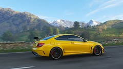 2012 Mercedes-Benz C63 AMG Coupe Black Series (ivan_92) Tags: game screenshots vidoegame car racing road forzahorizon4 mercedesbenz c63 amg coupe black series blackseries pc 4k