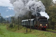 OKz32-2 near Mszana Dolna Marki (ThanksDrBeeching) Tags: train railway pociąg kolej zug bahn eisenbahn parowóz steam steamengine pkpcargo okz32 okz322 rabaniżna