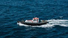 Das unvermeidliche Lotsenboot (Doblinus) Tags: 2018 marokko msartania tanger lotse afrika sonyrx100 sony kreuzfahrt lotsenboot mittelmeer