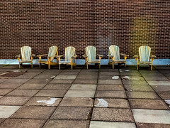 summer_chairs_waiting_&_watching-2_MaxHDR_Contrast_Dehaze_Rotate (1 of 1) (old_hippy1948) Tags: chairs bricks wall patioblocks