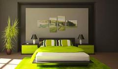 Tableau - 4 tableaux - Tranquilité en Toscane (emmanuel_delahaye) Tags: toscane mobilier deco artgeist recollection decointerior interiordesign design home décoration tableaux pay
