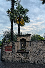 Shrine in a Wall (Bephep2010) Tags: 2018 7markiii alpha ascona frühling ilce7m3 lagomaggiore lakemaggiore mauer palme sel24105g schrein schweiz sony switzerland tessin ticino alps palm shrine spring wall ⍺7iii ch