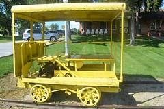 Ohio, Willard (EC Leatherberry) Tags: ohio railroad depot station speeder mow maintenanceofway huroncounty willardohio museum