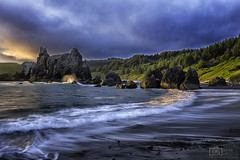 Beginning of time (Dave Arnold Photo) Tags: 101 1635mm 5d american or arnold awesome beach beautiful big brookings canon central cloud coast currycounty davearnold davearnoldphotocom endangered fantastic high highway huge idyllic landscape loneranch mkiii nude ocean ore oregon outdoor pacific peaceful photo photograph photographer photography pic picture professional rock scenic sea seastack serene sky spread sunset tidal tide tour travel us usa water wave wet wild