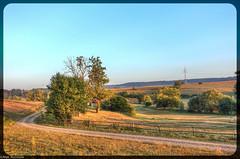 Countryside Path (asm_naumann) Tags: countryside rural autumn indiansummer latesummer summer evening goldenhour germany deutschland hessen hesse frankenberg europe europa hdr path fence idyllic idylle pfad zaun landscape landschaft landscapephotography rx100m3 sonyrx100m3 rx100iii sonyrx100iii