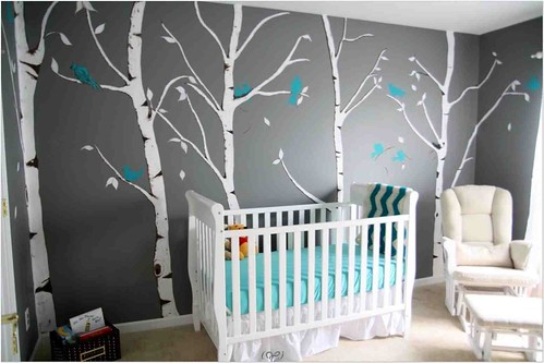 Diy Wall Painting Kids Room