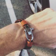 Bracelet Homme corde et manillle #bracelethomme #bijouxhomme (Bijoux Bijoux) Tags: bijoux enfant argent