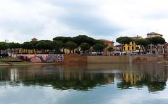 Rimini ponte Tiberio murales (berightbackblog) Tags: rimini romagna emiliaromagna italia italy mare streetart
