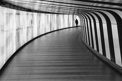 ... (Stefano Montagner - The life around me) Tags: alphacollective cityexplore london londra sonyalpha sonyimages streetview urban architecture corridor tunnel transportation vanishingpoint pedestrianwalkway indoors footpath modern nopeople walking station diminishingperspective escalator staircase urbanscene futuristic abstract blackandwhite builtstructure