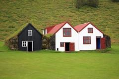 Icelandic Farm Buildings (JB by the Sea) Tags: southiceland southconstituency suðurkjördæmi southcoast iceland ísland europe september2018 skógar skogar rangárþingeystra skógarfolkmuseum skógasafn
