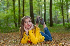 IMG_9438 (fab spotter) Tags: younggirl portrait forest levitation brenizer extérieur lumièrenaturelle