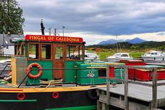 The Caledonian Canal (Greg_Men) Tags: schottland highlands outdoor boat landscape