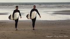 North Devon coast (barryjameswilson) Tags: water eveningsun ilfracombe portraits cliffs seascapes sea seaside devoncoast sauntonsands croydecove beachhuts surf surfers rocks skys beach