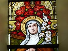 Church - St Andrews Catholic, Braemar 180711 [Stained Glass Window 9b] (maljoe) Tags: church churches braemar stainedglasswindow stainedglass stainedglasswindows