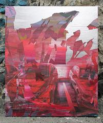 Red Portal (SERGEY AKRAMOV) Tags: сергейакрамов sergeyakramov streetart street graffiti graffuturism postgraffiti gallery art artwork fineart sprayart contemporary contemporaryart paint painting canvas acrylic alvitrgallery