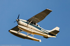 Cessna departing from nearby Lake Hood (Alaskan Dude) Tags: travel alaska anchorage anchorageinternationalairport airplane airplanes airliners aviation planes planespotting planewatching