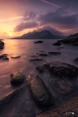 Amanecer en Sonabia (Caramad) Tags: agua longexposure mar landscape sunrise cantabria seascape sea sonabia marcantábrico rocks amanecer olas rocas