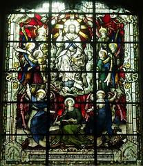 [67964] All Saints, Gainsborough : Forrest Window (Budby) Tags: gainsborough lincolnshire church window stainedglass