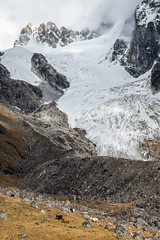 Glacier above Narethang camp - Gasa District - Snowman Trek - Bhutan (PascalBo) Tags: nikon d500 asie asia southasia asiedusud drukyul drukgyalkhap bhutan bhoutan འབྲུག་ཡུལ། འབྲུག་རྒྱལ་ཁབ་ snowman trek trekking hike hiking trekker lunana gasa himalaya himalayas jigmedorjinationalpark montagne mountain glacier snow neige outdoor outdoors pascalboegli
