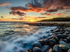 Kimmeridge Winter Sunset 😍 (Chris Jones www.chrisjonesphotographer.uk) Tags: jurassic coastline coast wave rocks sunset pier clavell's ocean sea wwwchrisjonesphotographeruk photographer jones chris uk england west south dorset bay kimmeridge