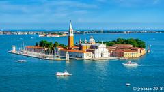 The Island of San Giorgio Maggiore @ Venice, Italy (orgazmo) Tags: venice venezia italy italia laserenissima sangiorgiomaggiore islands landscapes travelphotography olympus omd em1mk2 mzuiko12100mmf4ispro micro43s m43s