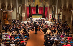 DSCN0278c Brahms Variations on the St Anthony Chorale. Ealing Symphony Orchestra, leader Peter Nall, conductor John Gibbons. 6th October 2018. St Barnabas Church, west London (Paul Ealing 2011) Tags: ealing symphony orchestra eso 6 october 2018 conductor john gibbons leader peter nall st barnabas church west london pitshanger lane w51qg w5 1qg england concert classical