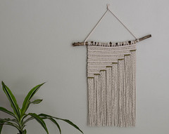 Gold Series II (srivard72) Tags: macrame wallhanging wallart art fiberart etsy goldseries parlor parlorart handmade decor