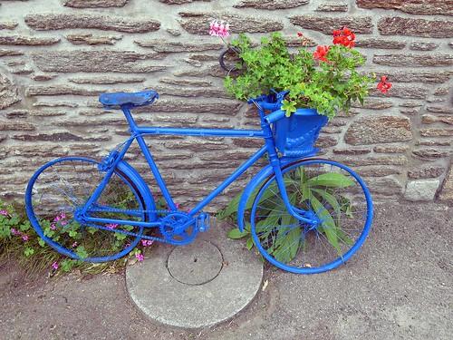 0030 La bicyclette bleue