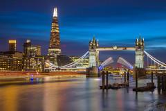 Ritorno a casa / Homecoming (Tower Bridge, London, United Kingdom) (AndreaPucci) Tags: towerbridge london uk thames theshard night andreapucci victorian british icon