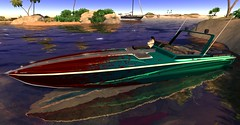 Bandit 380R - Bloody Paint (cuuka) Tags: firestorm secondlife cuuka kushino boat bandit 380 r speed speedboat picture sl second life photography secondlife:region=blakeseasirensisle secondlife:x=85 secondlife:y=153 secondlife:z=22