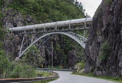 Penstock, Sauda 3 (2) (AstridWestvang) Tags: allmannajuvet industry mountain pipe road rogaland sauda