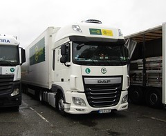 Gateway Express PEK-405 (Hungary) at Beaconsfield services (Joshhowells27) Tags: lorry daf xf dafxf hungary hungarian gatewayexpress foreign foreigner pek405