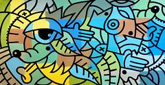 ottograph painting - silly rabbit - acrylic and ink on canvas - 85x155 cm #ottograph 2018 (ottograph / ipainteveryday.com) Tags: ottograph amsterdam paint kmdg graffiti streetartistry streetart popart art kunst canvas painting urbanart handmade gallery freehand urbanwalls design drawing ink illustration wijdesteeg linework graphic murals artist artgallery acrylic museum painter kmdgcrew 500guns street draw colorful sketch color inspiration doodle creative artoftheday artistic artsy photooftheday love instadaily worldofartists likeforlike followforfollow beautiful bestartfeature photography instaartist instanerd instacool