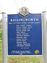 Killingworth Historic Marker (jimmywayne) Tags: middlesexcounty connecticut killingworth historic marker