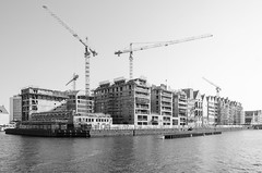 Construction (AstridWestvang) Tags: construction crane gdansk poland river island